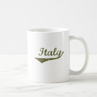 Italy Revolution Style Coffee Mug