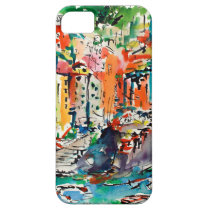 italy, riomaggiore, travel, europe, art, fine art, colorful art, watercolors, ginette, ginette callaway, mediterranean, villages, houses, colorful houses, seaside, coastal, gifts, [[missing key: type_casemate_cas]] com design gráfico personalizado