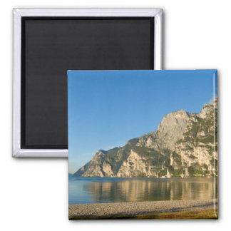 Italy, Riva del Garda, Lake Garda, Mount Fridge Magnet