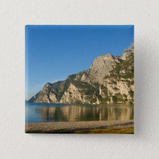 Italy, Riva del Garda, Lake Garda, Mount Pinback Button