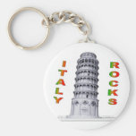 Italy Rocks Keychains