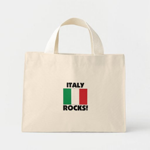 Italy Rocks Tote Bags