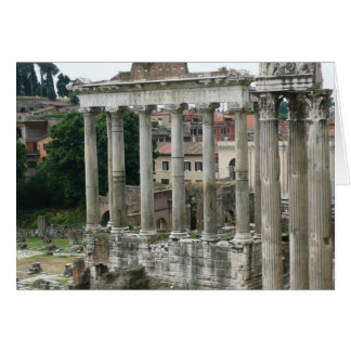 Italy, Roman Forum, Rome, Travel Card