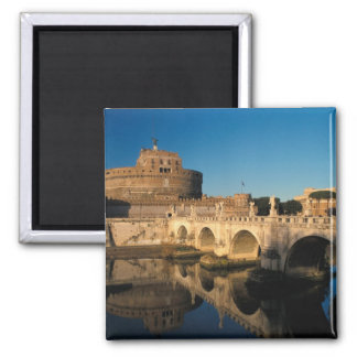 Italy, Rome, Castel Sant'Angelo and river Magnet