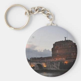 Italy Rome Castello S. Angelo Photo Keychain