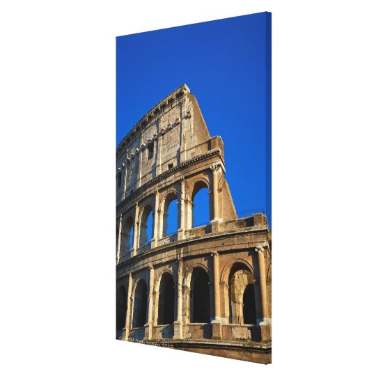 Italy, Rome, Coliseum Canvas Print