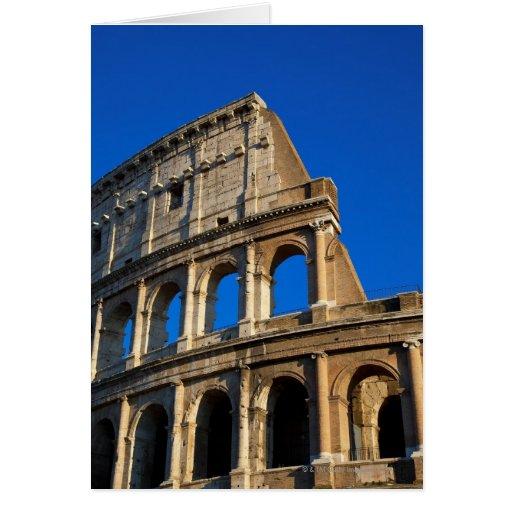 Italy, Rome, Coliseum Card