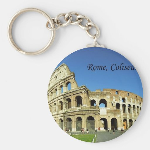 Italy Rome Coliseum (new) (St.K) Key Chains