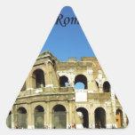 Italy Rome Coliseum (new) (St.K) Triangle Sticker