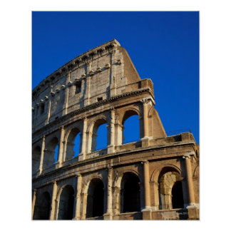 Italy, Rome, Coliseum Poster