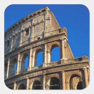 Italy, Rome, Coliseum Square Sticker
