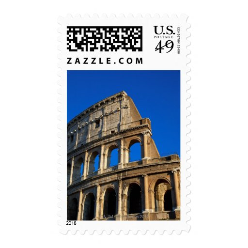 Italy, Rome, Coliseum Stamp