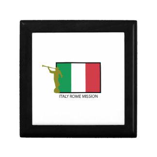 ITALY ROME MISSION LDS CTR KEEPSAKE BOX