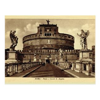 Italy, Rome, Roma, Castel Santa ANgelo Postcard