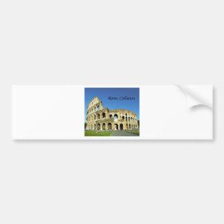 Italy, Rome, Roman Coliseum (St.K.) Bumper Sticker
