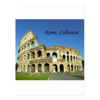Italy, Rome, Roman Coliseum (St.K.) Postcard