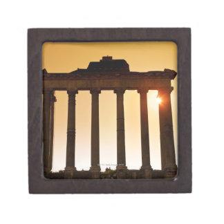 Italy, Rome, Roman Forum, Temple of Saturn Jewelry Box