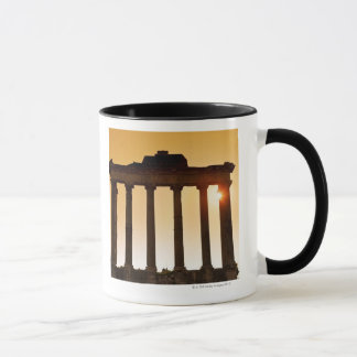 Italy, Rome, Roman Forum, Temple of Saturn Mug