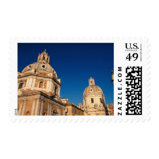 Italy, Rome, Santa Maria di Loreto church and Postage