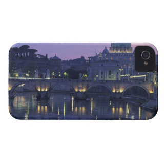 Italy, Rome St. Peter's and Ponte Sant Angelo, Case-Mate iPhone 4 Case