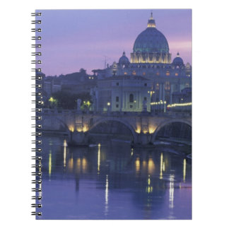 Italy, Rome St. Peter's and Ponte Sant Angelo, Notebooks