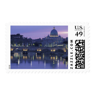 Italy, Rome St. Peter's and Ponte Sant Angelo, Postage