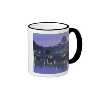 Italy, Rome St. Peter's and Ponte Sant Angelo, Ringer Coffee Mug