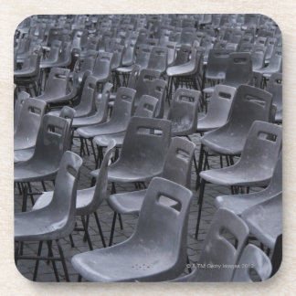 Italy, Rome, Vatican City, Outdoor chairs on Drink Coasters