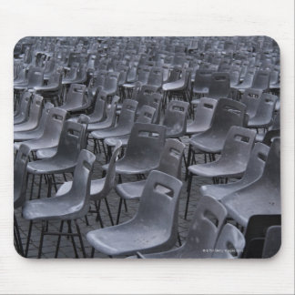Italy, Rome, Vatican City, Outdoor chairs on Mouse Pad