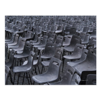 Italy, Rome, Vatican City, Outdoor chairs on Postcard