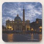 Italy, Rome, Vatican City, St. Peter's Basilica Beverage Coaster