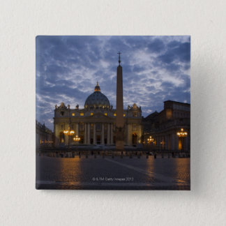 Italy, Rome, Vatican City, St. Peter's Basilica Pinback Button