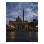 Italy, Rome, Vatican City, St. Peter's Basilica Poster