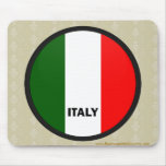 Italy Roundel quality Flag Mouse Pad