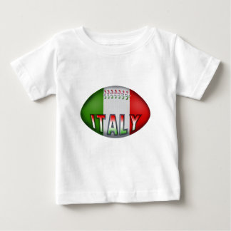 Italy Rugby Ball Baby T-Shirt