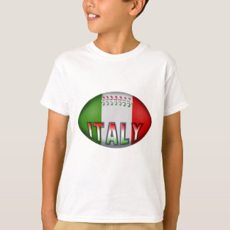 Italy Rugby Ball T-Shirt