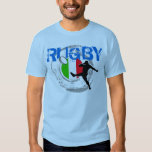 Italy Rugby Fans T-Shirt Kick