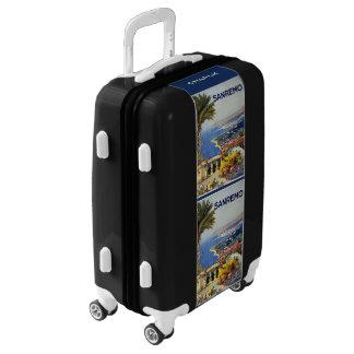 Italy Sanremo custom name luggage