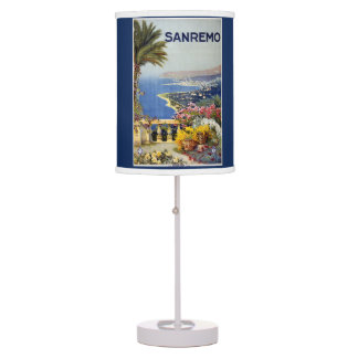 Italy Sanremo vintage travel lamps