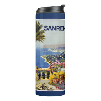 Italy Sanremo vintage travel tumbler