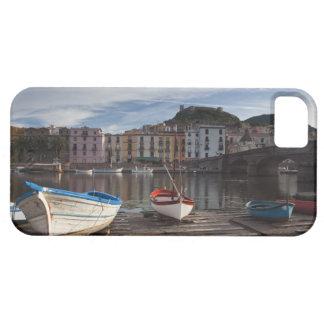Italy, Sardinia, Bosa. Temo River and Ponte iPhone 5 Covers