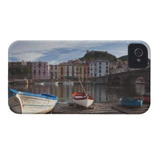 Italy, Sardinia, Bosa. Temo River and Ponte iPhone 4 Case