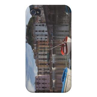 Italy, Sardinia, Bosa. Temo River and Ponte iPhone 4 Cover