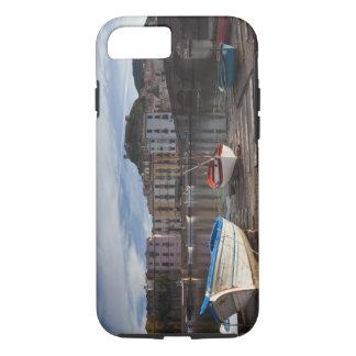Italy, Sardinia, Bosa. Temo River and Ponte iPhone 8/7 Case