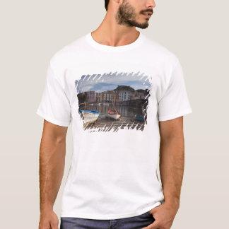 Italy, Sardinia, Bosa. Temo River and Ponte T-Shirt