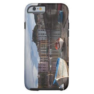 Italy, Sardinia, Bosa. Temo River and Ponte Tough iPhone 6 Case