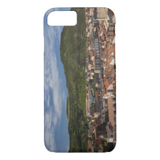 Italy, Sardinia, Bosa. Town view from Castello 2 iPhone 8/7 Case