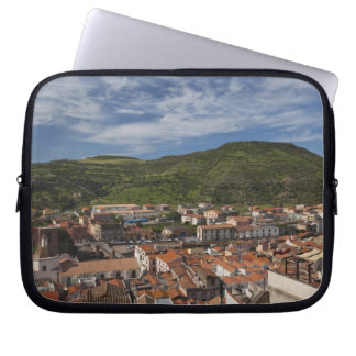 Italy, Sardinia, Bosa. Town view from Castello 2 Computer Sleeves