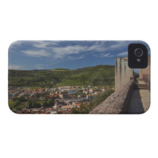 Italy, Sardinia, Bosa. Town view from Castello Case-Mate iPhone 4 Case