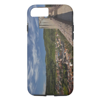 Italy, Sardinia, Bosa. Town view from Castello iPhone 8/7 Case